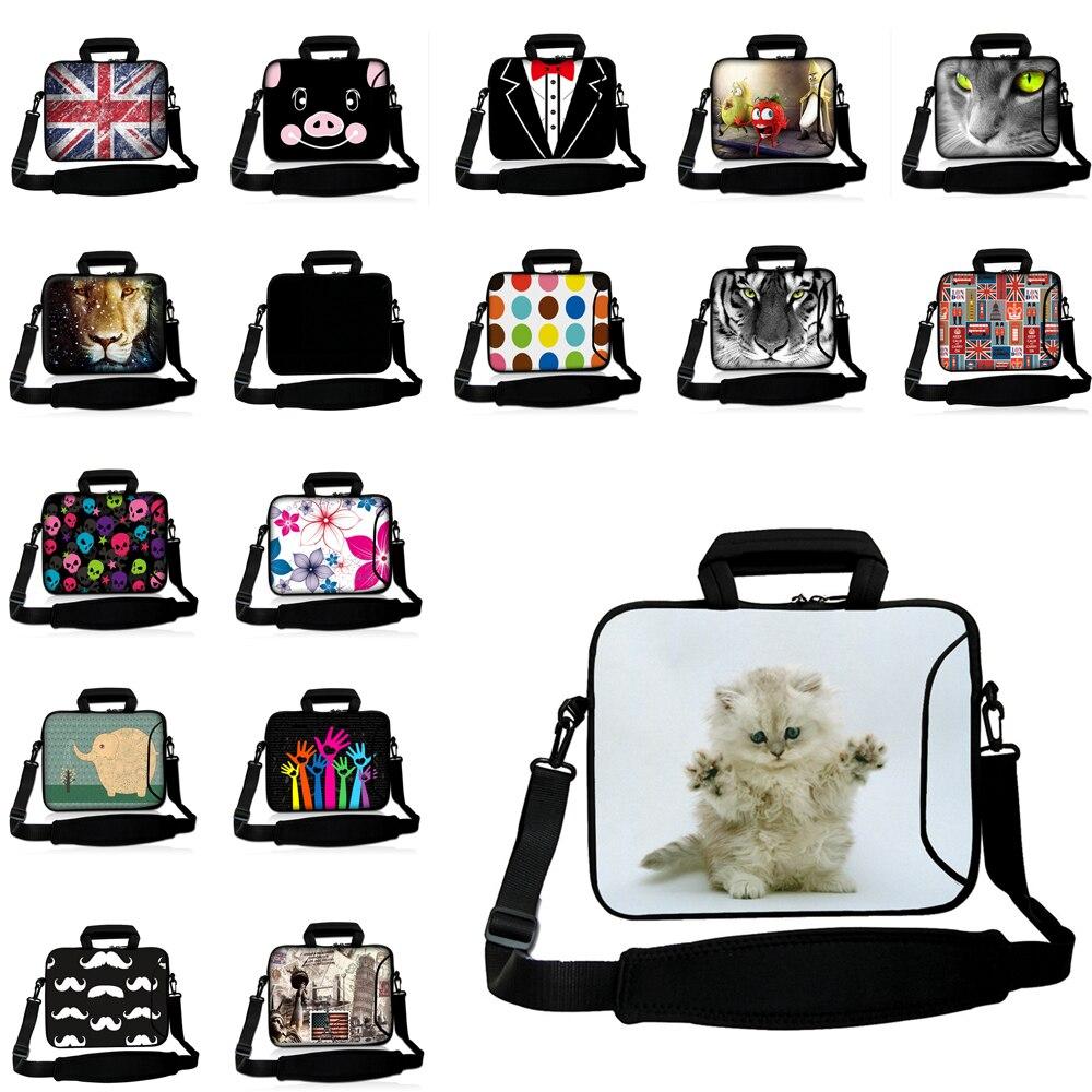 Viviration Waterproof Messenger Shoulder Bag for Macbook Pro 13 Air 15 Case Handle Briefcase 10 12 13 14 15 17 Notebook Case Hot