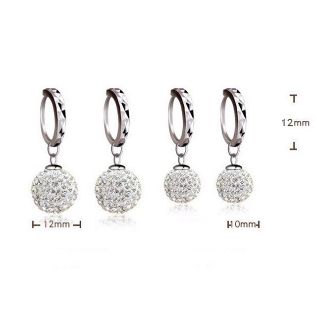Crystal earrings long Drop earrings