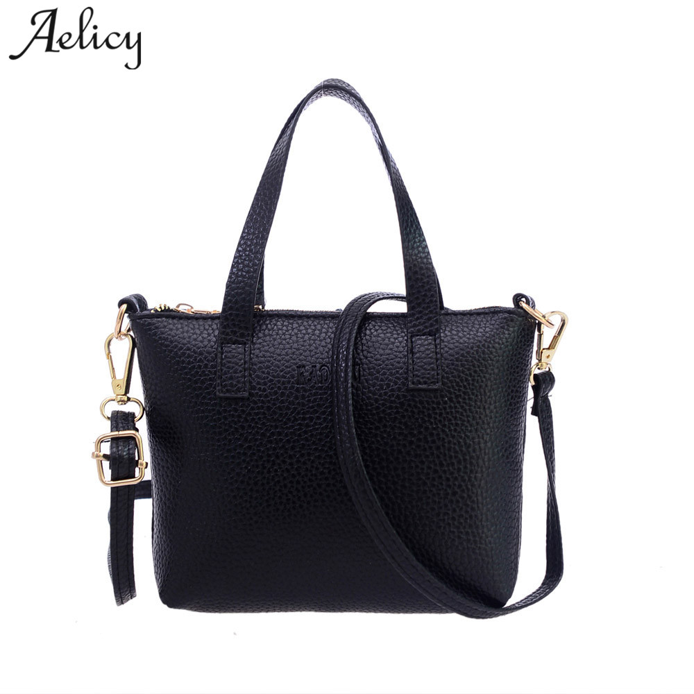 Aelicy Women Fashion Handbag Shoulder Bag Large Capacity Casual Totes Ladies Crossbody Soft PU Leather Bags for Girl sac femme 2015 new fashion simple pu leather big bag fashion casual shoulder women bag handbag large capacity street sweet girl handbag
