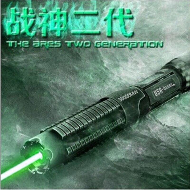 JSHFEI vert laser pointeur haute puissance camping torche 532nm camping stylo guide de direction ingénierie indicateur bâton