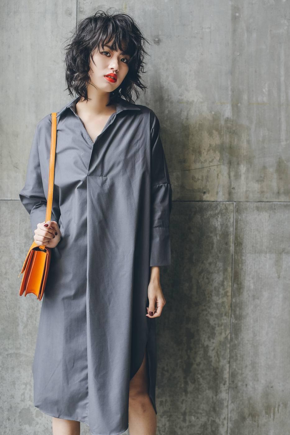 Online Get Cheap Womens Long Sleeve Shirt Dresses 2015 -Aliexpress ...