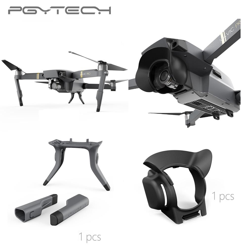 pgytech-extended-landing-gear-leg-support-lens-hood-sun-shade-glare-shield-lens-camera-protector-for-mavic-pro-font-b-drone-b-font-accessorie