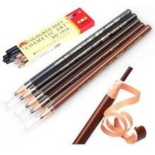 1Pcs 5 Colors 19.5cm Fashion Women Beauty Makeup Eyebrow Enhancer Maquiagem Tools Soft Crayon Waterproof Eyebrow Eyeliner Pencil