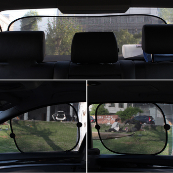 2019 New Car Window Sunshade Covers Universal Windshield Car Sun Shade Curtain Auto Sun Visor Protection Kids Car Accessories image