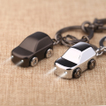 milesi metal car led keychain Light key holder zinc alloy keyring key fob men gift porte clef llavero chaveiro carro K0179_1