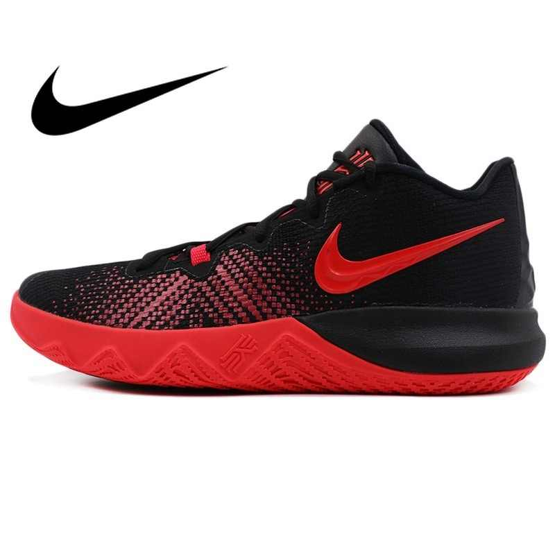 2893ab3a76 Original 2018 NIKE Men's Basketball Shoes Lace-up Sneakers Wear-resistant  Breathable Athletics Low