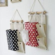 Multilayer Hanging Bags Korea Multifunctional Creative Debris Storage Bag Paper Towel Suction Bag Wall Paper Towel Cover
