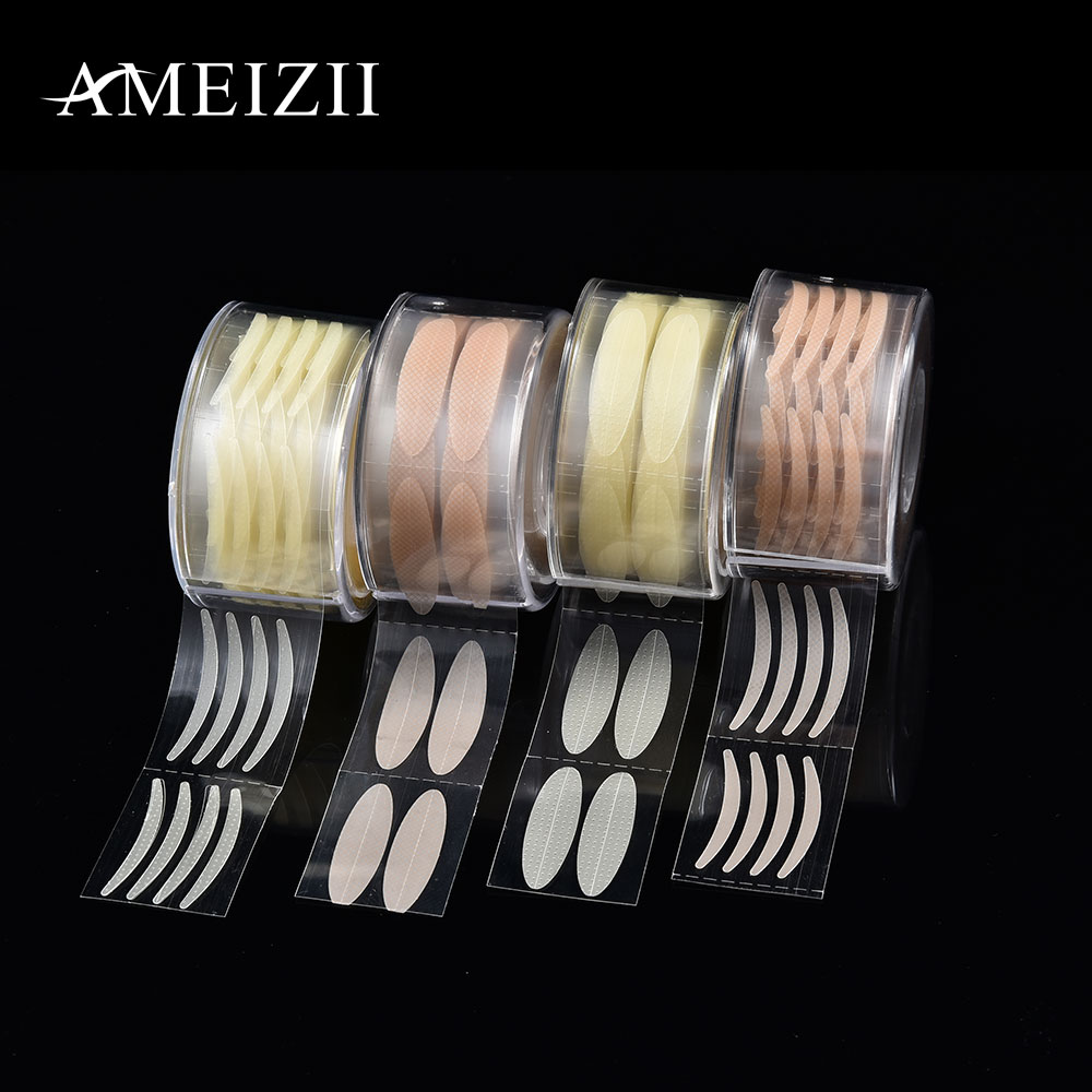 цена на AMEIZII 600pcs S/L Eyelid Tape Sticker Invisible Double Eyelid Paste Natural Eye Lift Instant Makeup Clear Stripe Eyes Sticker