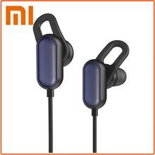Orijinal Xiaomi spor Bluetooth kulaklık kablosuz Bluetooth 4.1 mikrofon ile kulaklıklar IPX4 telefonu için su geçirmez kulaklık