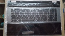 Новый! Для samsung NP RC730 RC728 RU русский язык клавиатура ноутбука с чехол упор для рук тачпад BA75-03203D