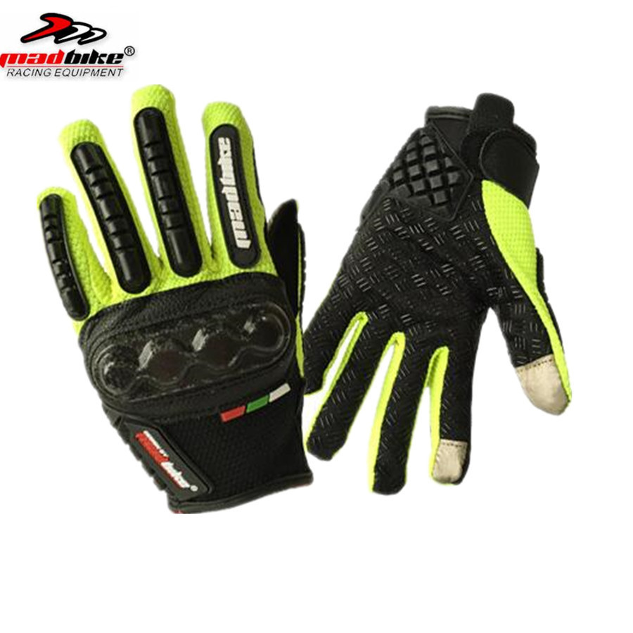 Moto gants d'été respirant portable de protection en plein air moto luvas alpine motocross étoiles gants moto verano guant