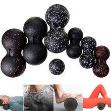 Арахис Массажный мяч фасции ролик для пилатеса и йоги Тренажерный Зал