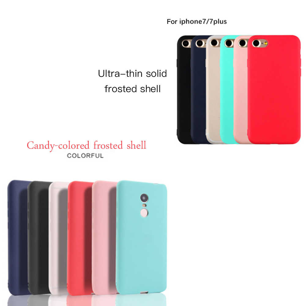 Sevimli Şeker xiaomi için telefon kılıfı Kırmızı mi not 5 6 Pro 6A 6 5A 4X KıLıF Xiao mi mi 5X A1 6X A2 mi 8 SE Max3 mi x3 oyun Pocophone F1