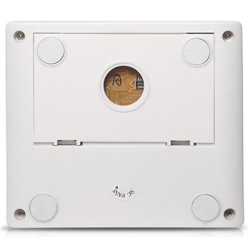 Saful 2.8 LCD Digital Door Peephole Viewer Viewfinder Video Judas 3x Zoom Door Bell View Outdoor Doorbell For Home Safety