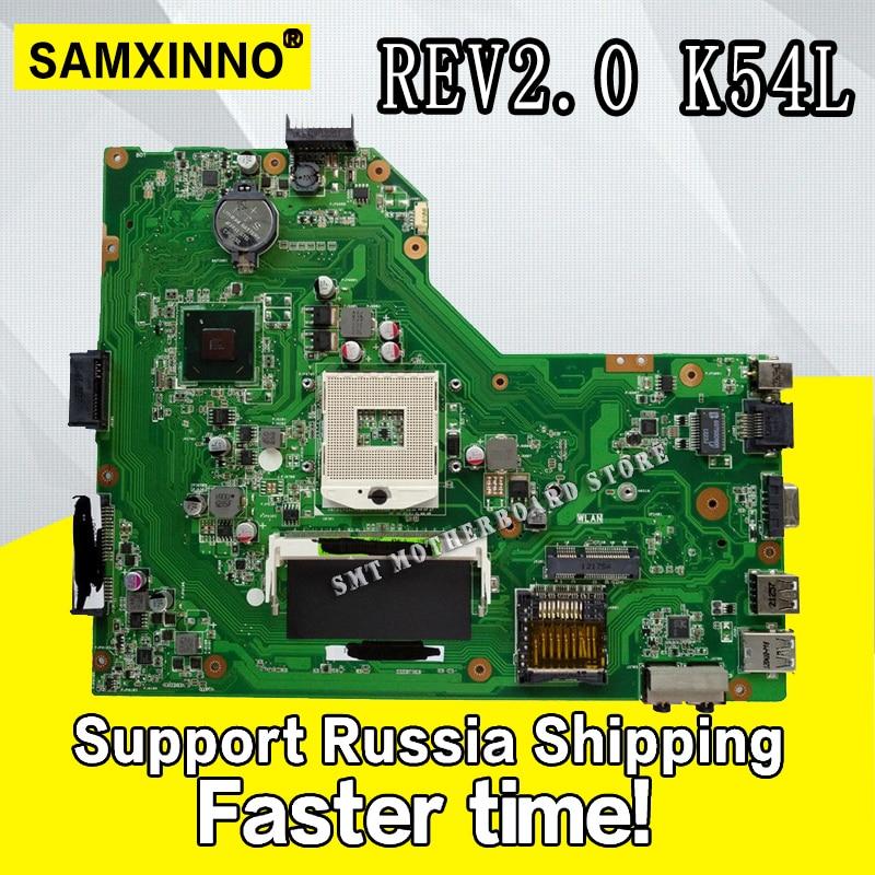 K54L Motherboard Rev:2.0 DDR3 For ASUS K54L X54L X54H laptop Motherboard K54L  Mainboard K54L Motherboard test 100% OKK54L Motherboard Rev:2.0 DDR3 For ASUS K54L X54L X54H laptop Motherboard K54L  Mainboard K54L Motherboard test 100% OK