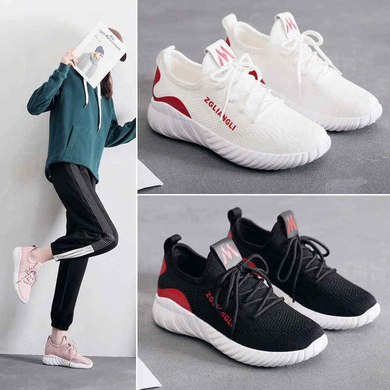 75911112a91 Tenis Mujer 2019 Tennis Shoes for Women Breathable Sport Shoes Stability  Air Mesh Gym Sneakers Femme Jogging Athletic Footwear