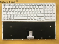 New GR Germany keyboard for Sony vaio VPCEB36FG VPCEB4J1R VPC EB1E9R VPCEB1S1R VPCEB VPC EB pcg 71211v gr White With White Frame