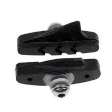 1 Pair Bicycle Road MTB Bike Brake Braking Rubber Black Pads/Blocks/Shoes Cycling Accessories