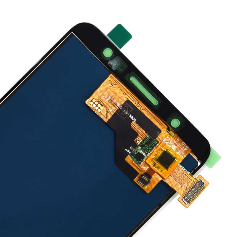لسامسونج غالاكسي J510 J510FN J510F J510G J510Y J510M عرض مجموعة المحولات الرقمية لشاشة تعمل بلمس لسامسونج J5 2016 LCD شاشة
