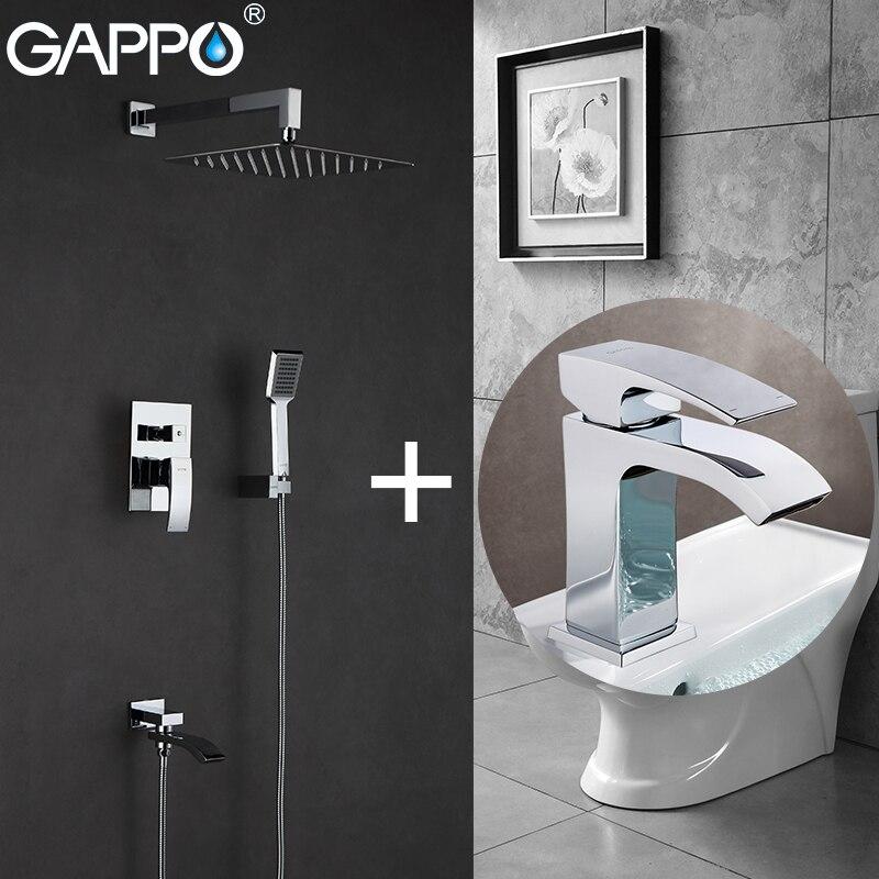 Gappo Смесители для ванны Для ванной смеситель для ванны Для ванной ванна кран, смеситель воды раковина кран Смесители для ванной бенуар