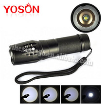 Newest XM-L T6 2000Lumens Torch Flash Light Zoomable LED Flashlight linterna led linternas tactical For 3xAAA or 1×18650 26650