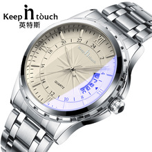 keepintouch Watches Men Luxury Top Brand Fashion Men's Designer Quartz Watch Male Wristwatch relogio masculino relojes