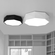 420mm 24w Hot geometry LED ceiling lights baby child room bedroom living room balcony lights household diamond ceiling lamps