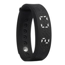 Фитнес-браслет H5S портативный интеллектуальной деятельности Управление Часы сердечного ритма Мониторы умный Браслет расстояние калькулятор (черный)