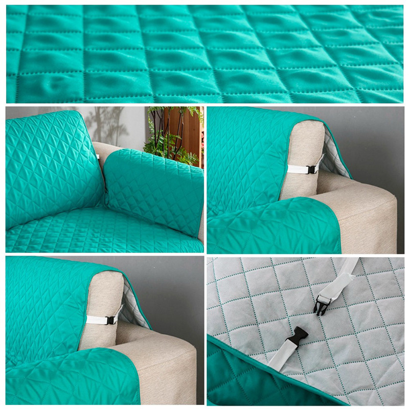 Strange Waterproof Pets Sofa Cover Anti Dirty Anti Pee Pet Sofa Slipcovers Dogs Kids Couch Covers For Living Room 1 2 3 Seater Machost Co Dining Chair Design Ideas Machostcouk