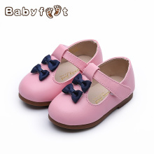Toddler Baby Girls First Walkers Shoes Infant Fashion Summer Bowknot  Princess Leather Soft Sole Cute Cool Lovely Elegant Shoe
