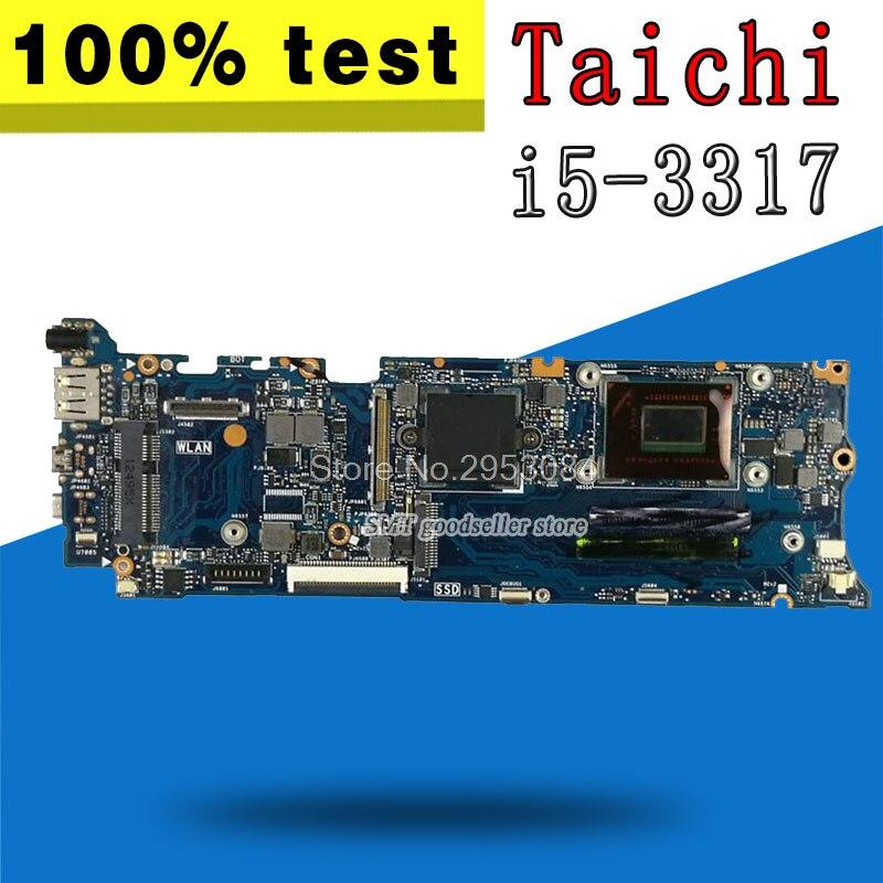Для материнской платы ASUS Taichi 31 REV2.0 материнская плата i5 3317 процессор QS77 Chipest 4G на борту HD 4000 100% тесты