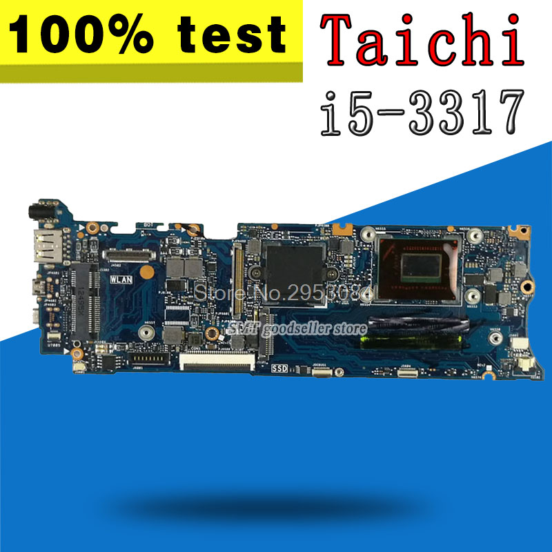 For ASUS Motherboard Taichi 31 REV2.0 Mainboard i5-3317 Processor QS77 Chipest 4G On Board HD 4000 100% TestFor ASUS Motherboard Taichi 31 REV2.0 Mainboard i5-3317 Processor QS77 Chipest 4G On Board HD 4000 100% Test