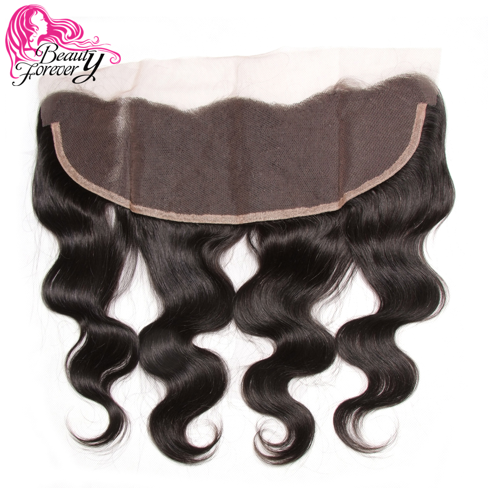 Beauty Forever Brazilian Body Wave Lace Frontal Closure 13 4 Free Part Ear to Ear Remy
