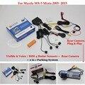 Для Mazda MX-5 Miata 2005 ~ 2015-Автомобилей Датчики Парковки + Вид Сзади резервное Копирование Камеры = 2 в 1 Видео/Bibi Парковка система