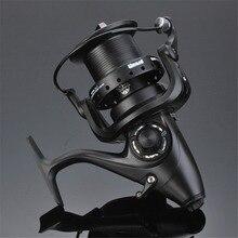 Металлический передний задний тормоз 12+ 1BB спиннинговая Рыболовная катушка с шариковым подшипником длинная Рыбная катушка Рыболовная сила разгрузки