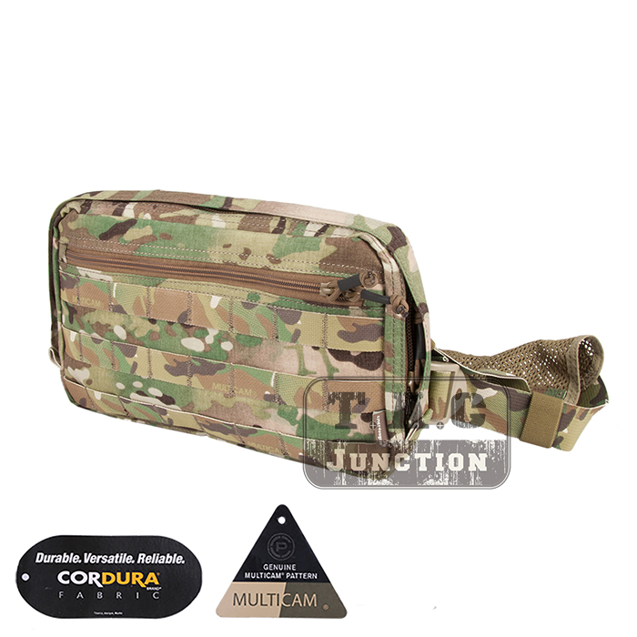 Emerson Tactical Combat Chest Recon Kit Bag EmersonGear Multi-Purpose Utility Accessories Concealed Carry Pouch emersongear edc tactical admin pouch molle multi purpose survival pouch military army combat bag em8506