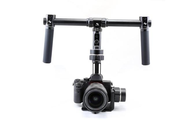 F17006 Feiyu FY-MG MGV2 3 Eixo Cardan Brushless 360 Estabilizador para Mirrorless câmeras A7 A7R A7S A7 A7R A7S II II II GH4/NEX-7