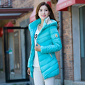 Cheap wholesale 2017 Hot plus size down cotton women Jacket female slim fashion causal medium-long winter outerwear warm Coat