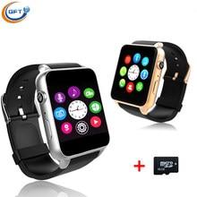 GFT GT88 Bluetooth Smart Uhr mtk2502c Herzfrequenz Schlaf-monitor unterstützung TF/Sim-karte Smartwatch für iPhone 5 s 6 s 7 für Samsung