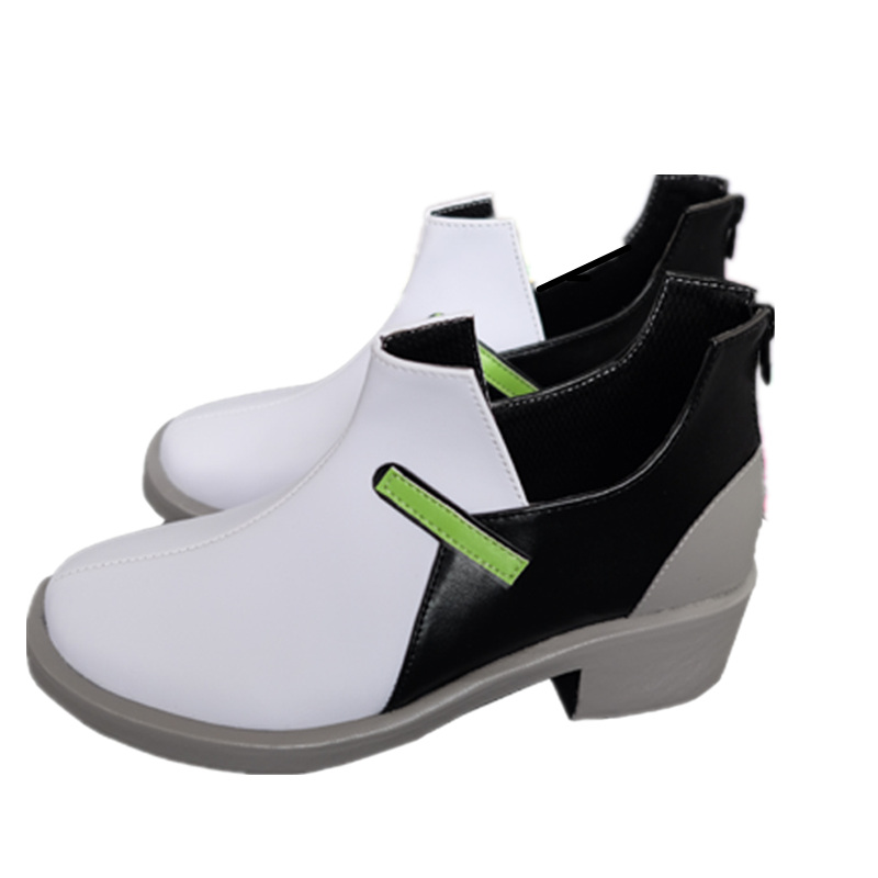 Game OW D.VA Cosplay Shoes Comic-con D.VA Role Play High Heel boots Comic Fancy costumes