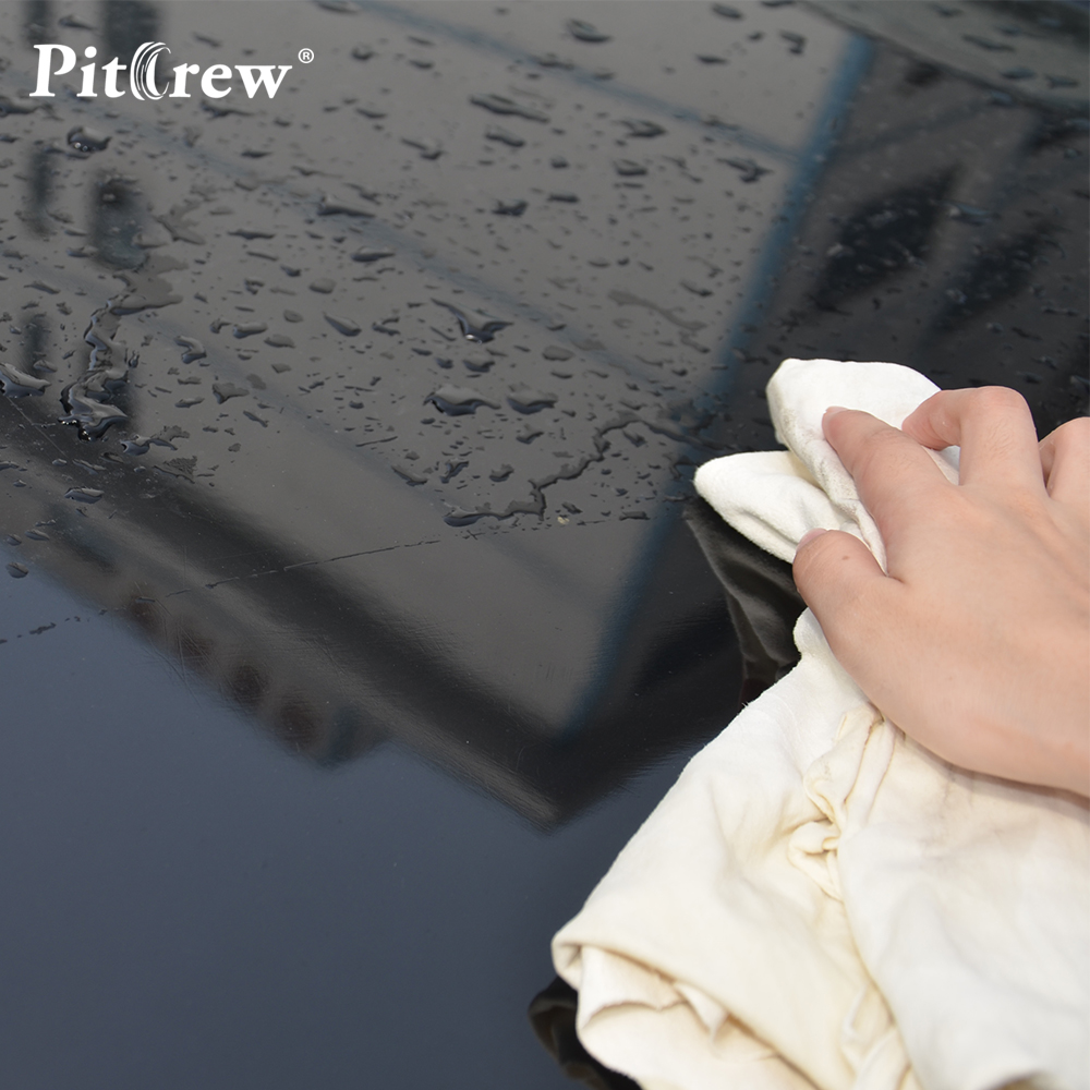 High Quality Car Natural Drying Chamois Cleaning Towel Genuine Leather Shammy Sponge cloth Sheepskin Absorbent Towel Car Washing