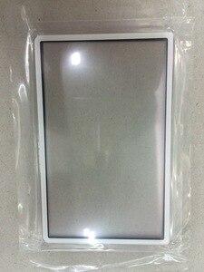Image 3 - استبدال أعلى سطح الزجاج ل جديد 3DS LL XL ل جديد 3 dsxl 2015 شاشة الخارجي غطاء للعدسات الأسود الأبيض الأحمر الأزرق