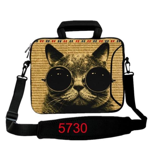 620c4c9de3 Housse pour ordinateur portable Cat 10 12 13 13.3 14 15 15.6 17 pouces sac à