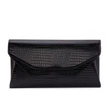 Luksusowe oryginalne skórzane sprzęgło kobiet wzór krokodyla skórzana torba na ramię wieczór party portfel kopertówka torebka łańcucha torba