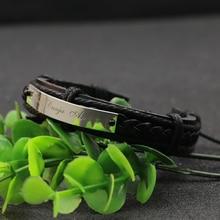 Personalized Name Men Bracelet Engraved Custom Name Bracelet Men 925 Solid Silver Memorial Bracelet
