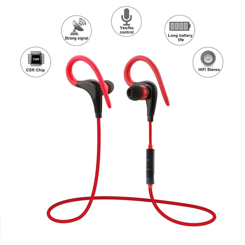 2017 V4.1 Sport Wireless Bluetooth Earphone Bluetooth For Outdoor Sports Phones Bluetooth