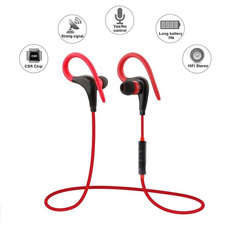 2017 V4.1 Sport Wireless Bluetooth Earphone Bluetooth For Outdoor Sports Phones Bluetooth