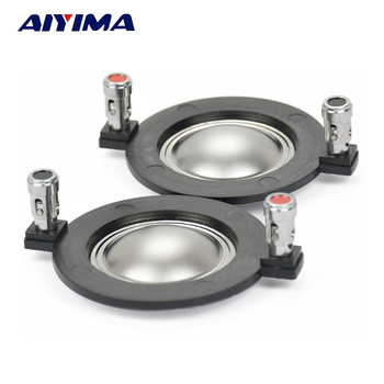 AIYIMA 2Pcs Audio Tweeter Driver Speakers Professional Titanium Film 25/34/44/51 Core Treble Voice Coil DIY Speakers Accessory