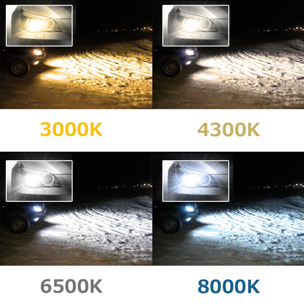 2pcs H7 LED H11 H4 H1 H3 9005 9006 H13 9004 9007 Led Car Headlight Bulb 6000K 60W 8000LM 8000K 4300K 3000K Auto Headlamp 12V