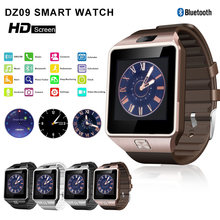 2018 GEJIAN New Smart Watch Clock DZ09 With Sim Card Slot Push Message Bluetooth Connectivity ios android Phone Sport Smartwatch(China)